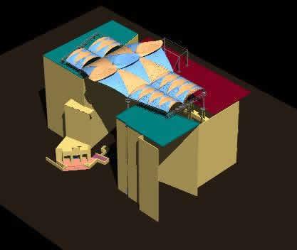 imagen 3d centro comercial los proceres, en Centros comerciales supermercados y tiendas - Proyectos