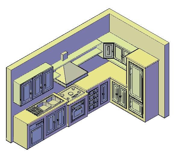 Dise o mueble de planos cocina - Planos de muebles de cocina ...