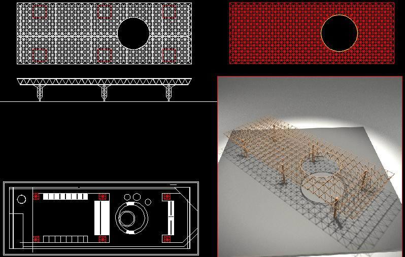 imagen 3d expo 70 kenzo tange, en Obras famosas - Proyectos