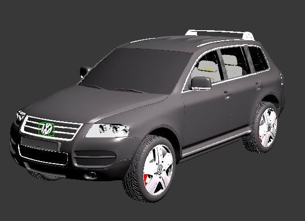 imagen 3d volkswagen, en Automóviles en 3d - Medios de transporte