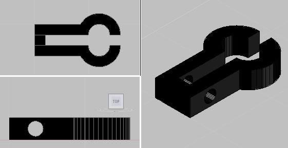 imagen Abrazadera, en Válvulas tubos y piezas - Máquinas instalaciones