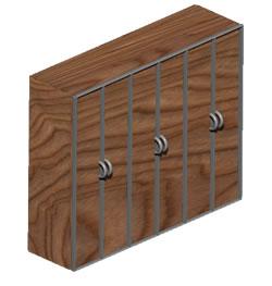 imagen Alacena 3d, en Estanterías y modulares - Muebles equipamiento