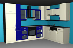 imagen Amoblamiento de cocina, en Cocinas - Muebles equipamiento