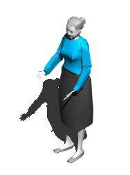 imagen Anciana 3, en 3d - Personas