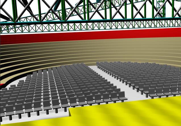 imagen Anfiteatro 3d, en Centros y parques recreativos - Proyectos