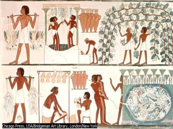 imagen Antiguo egipto, en Monografías - Historia