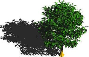 imagen Arbol en 3d 001b, en Arboles en 3d - Arboles y plantas