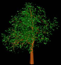 imagen Arbol en 3d 003, en Arboles en 3d - Arboles y plantas
