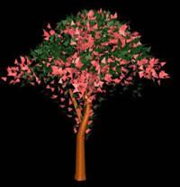 imagen Arbol en 3d 010, en Arboles en 3d - Arboles y plantas