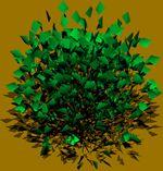 imagen Arbustos en 3d 001a, en Arbustos en 3d - Arboles y plantas
