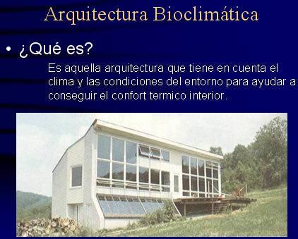imagen Arquitectura bioclimática, en Arq. bioclimática - Proyectos