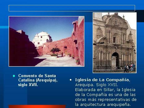 imagen Arte arqutectura peruana, en Monografías - Historia