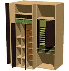 Planos de artist furniture mueble organizador para - Muebles estanterias modulares ...