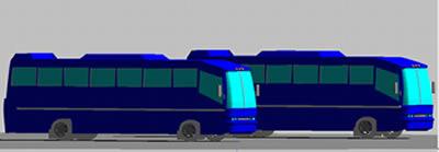 imagen Autobuses, en Autobuses - Medios de transporte