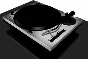 imagen Bandeja gira discos 3d, en Electrodomésticos - Muebles equipamiento