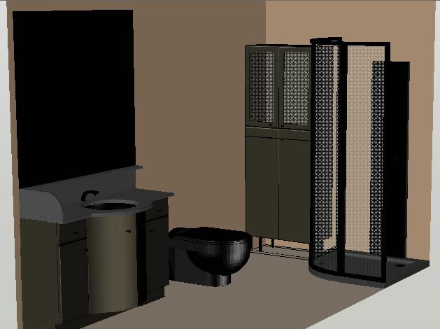 Planos de casas planos de construccion - Banos en 3d ...