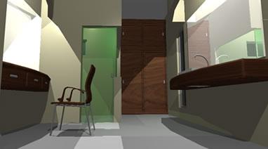 Planos de ba o 3d en ba os muebles equipamiento en for Equipamiento banos