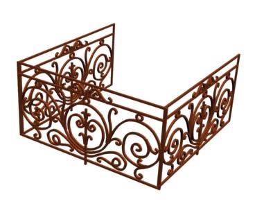 Barandas archives p gina 2 de 5 planos de casas for Planos de escaleras de hierro