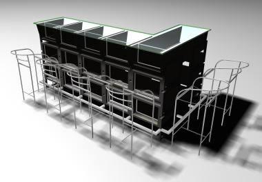 Bares y restaurants archives p gina 2 de 8 planos de for Muebles barras de bar para casa