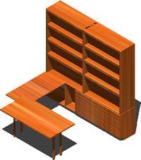 imagen Biblioteca, en Escritorios - Muebles equipamiento
