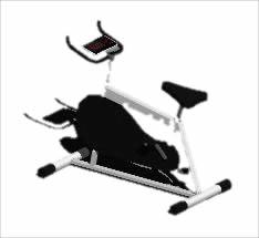 imagen Bicicleta fija, en Equipamiento gimnasios - Deportes y recreación