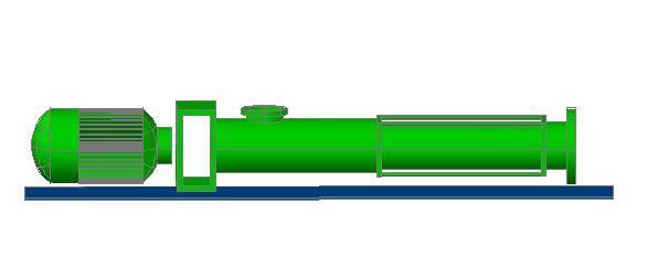 imagen Bomba de desplazamiento vertical 3d, en Equipos de bombeo - Máquinas instalaciones