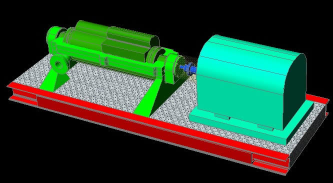 imagen Bomba goulds 3d, en Industria petrolera - Máquinas instalaciones
