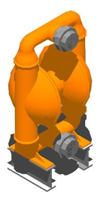 imagen Bomba wilden pump m15 en 3d, en Salas de máquinas - Instalaciones