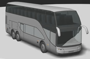 imagen Bus cama 3d, en Autobuses - Medios de transporte