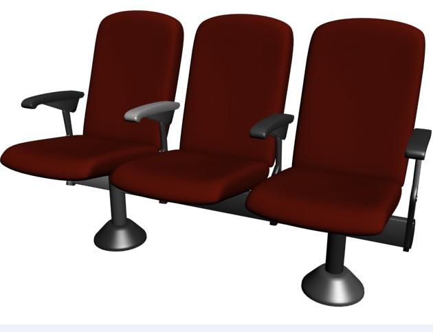 imagen Butacas 01, en Cines y auditorios - Muebles equipamiento