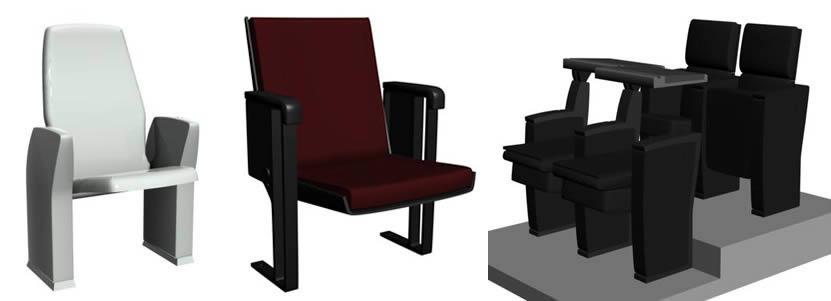 imagen Butacas2, en Butacas - Muebles equipamiento