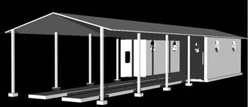 imagen Cabina de pintura 3d, en Talleres - Proyectos