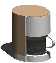 imagen Cafeteira 3d, en Electrodomésticos - Muebles equipamiento
