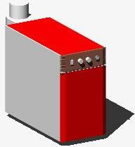 imagen Caldera calefaccion 3d, en Calefacción - Climatización