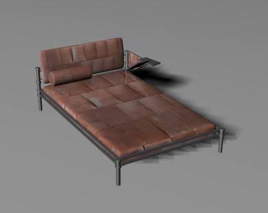 imagen Cama 3d, en Dormitorios - Muebles equipamiento