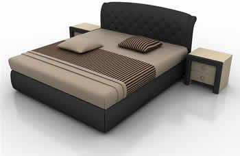 imagen Cama 3d - max, en Dormitorios - Muebles equipamiento