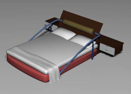 Dormitorios archives p gina 13 de 22 planos de casas for Cama 3d dibujo