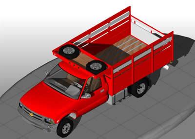 imagen Camion chevrolet c35 3d, en Camiones - Medios de transporte