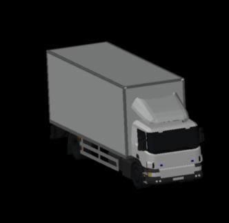 imagen Camion scania 2 ejes 3d, en Camiones - Medios de transporte