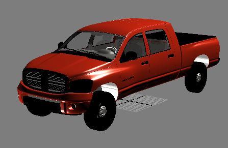 imagen Camioneta ram, en Camiones - Medios de transporte