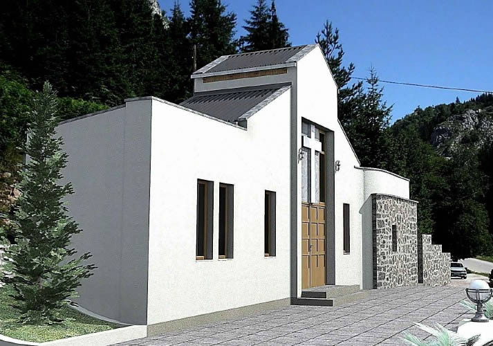 imagen Capilla, en Arq. religiosa - Proyectos