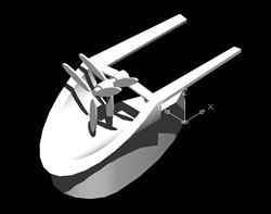 imagen Captador de energia eólica, en Arq. bioclimática - Proyectos