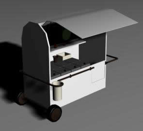 imagen Carinho de sorvete 3d, en Quinchos - churrasquerías - cocinas alternativas - Parques paseos y jardines