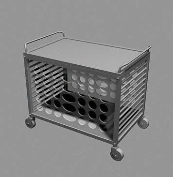 imagen Carro de super mercado 3d, en Objetos varios - Muebles equipamiento