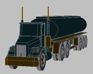 imagen Carrotanque - 3d, en Camiones - Medios de transporte