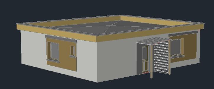 Planos de casas planos de construccion for Partes del techo de una casa