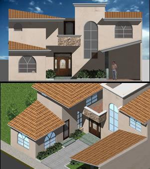 imagen Casa 3d vira, en Vivienda unifamiliar 3d - Proyectos