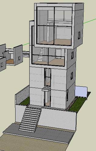 imagen Casa 4x4 tadao ando, en Obras famosas - Proyectos