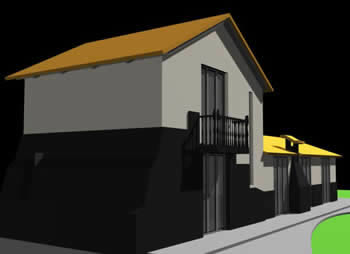imagen Casa campestre 3d, en Vivienda unifamiliar 3d - Proyectos