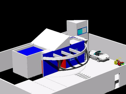 imagen Casa em 3d, en Vivienda unifamiliar 3d - Proyectos